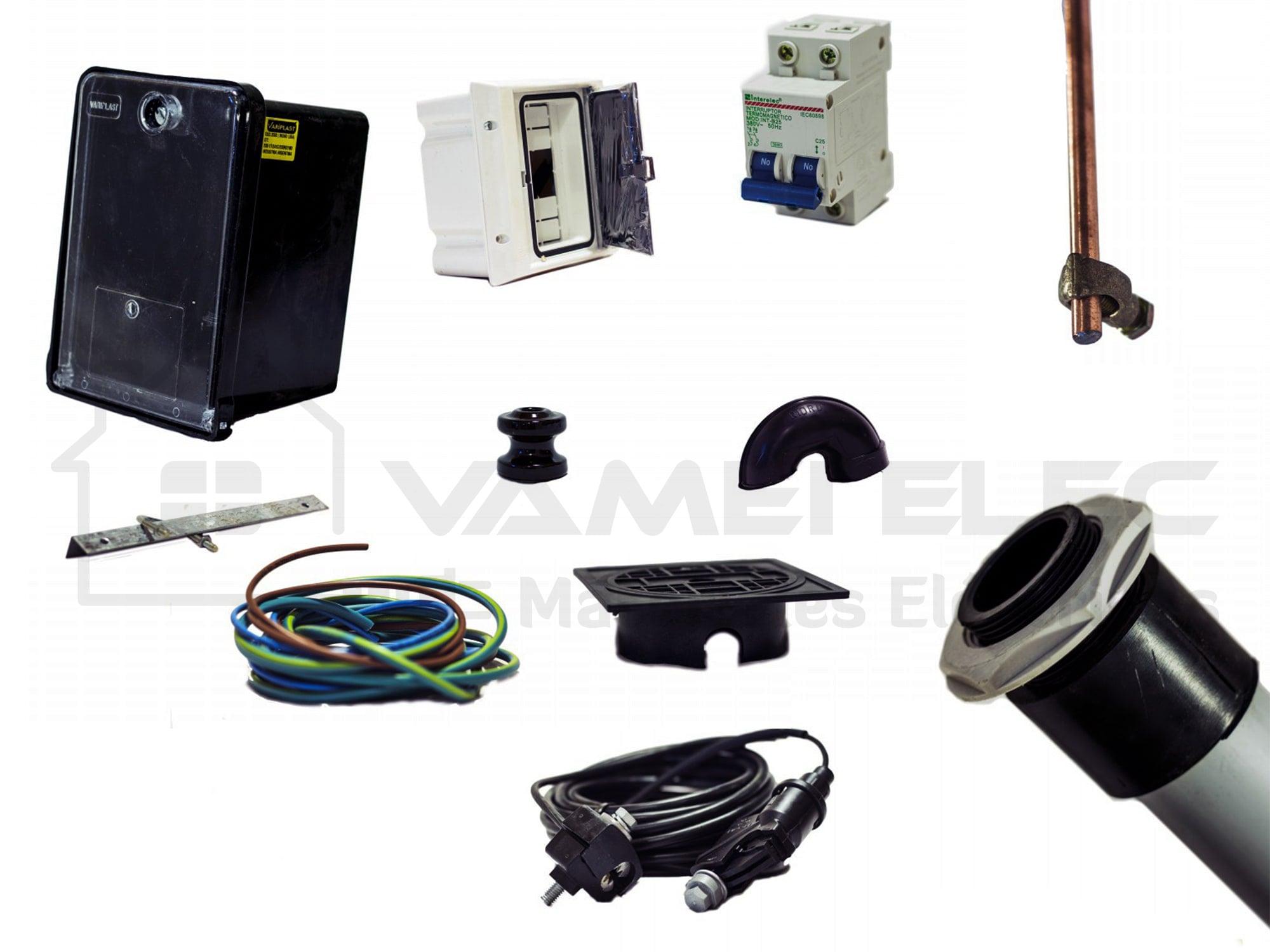 VAMEI Elec - Kit de conexión EPE - Monofásico Rosario