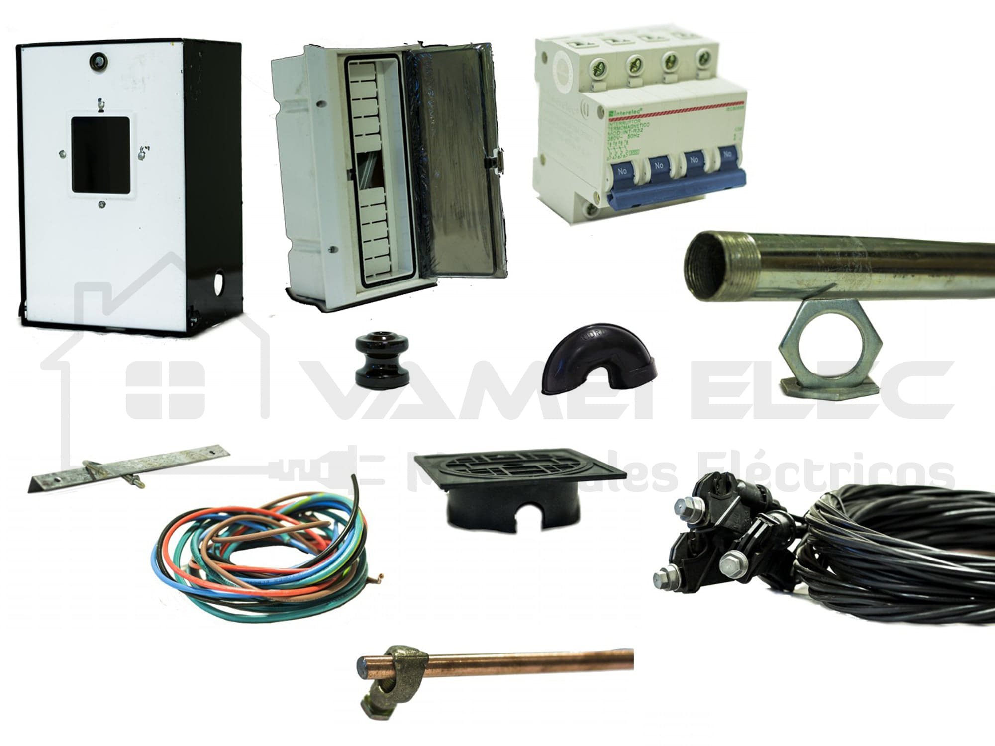 VAMEI Elec - Kit de conexión EPE - Trifásico Roldan