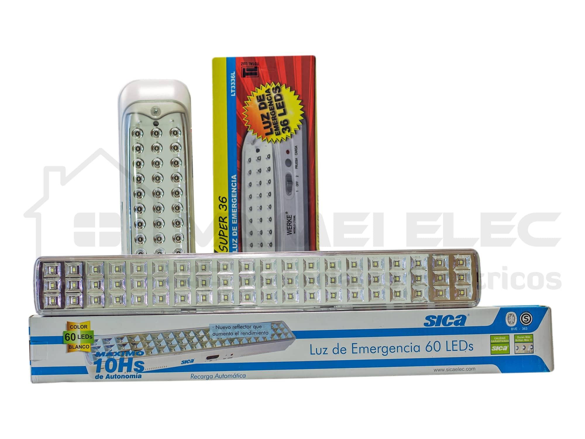 VAMEI Elec - Luz de Emergencia LED